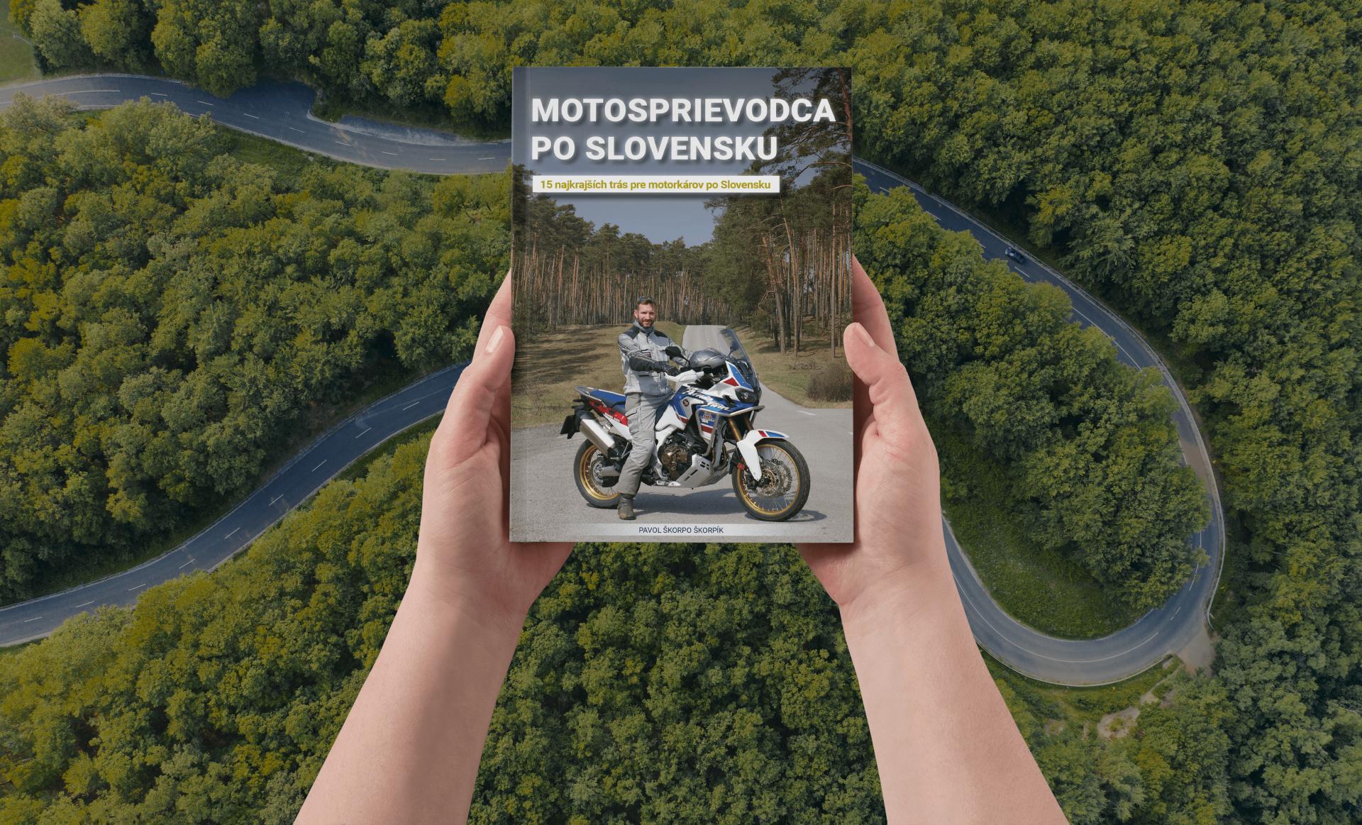 kniha motocykel motosprievodca po slovensku